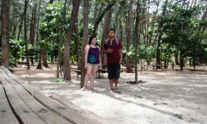 tour package enjoy ka dito anawangin-nagsasa cove -white sand beach and camp-anawangin pine tree