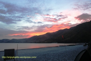 tour package enjoy ka dito anawangin-nagsasa cove -white sand beach and camp-sun set
