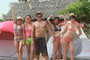 tour package enjoy ka dito Calaguas Island, Daet Camarines Norte, Camping, skim boarding, white sand, 8
