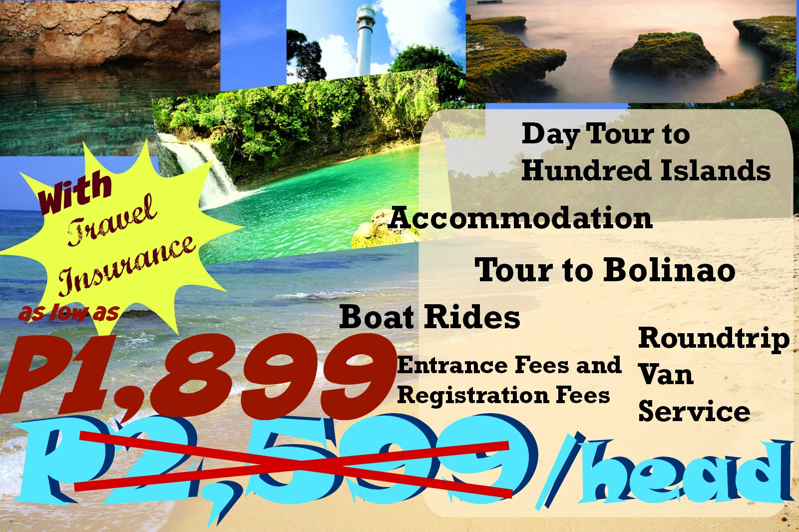 Hundred Island Tour Package