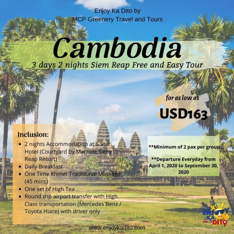 Cambodia F&E 3D2N by MCP Greenery Travel and Tours