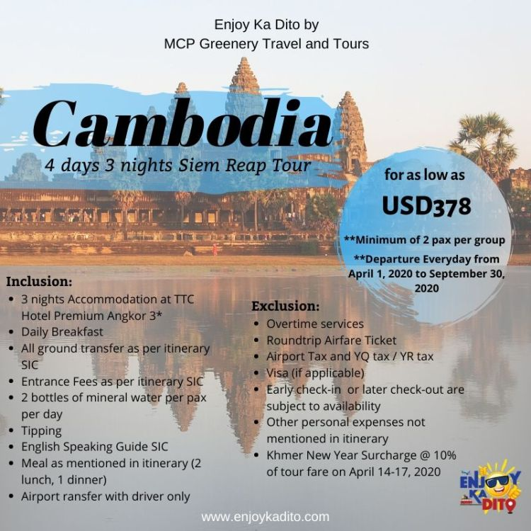 Cambodia-TTC Hotel Premium Angkor by MCP Greenery Travel and Tours