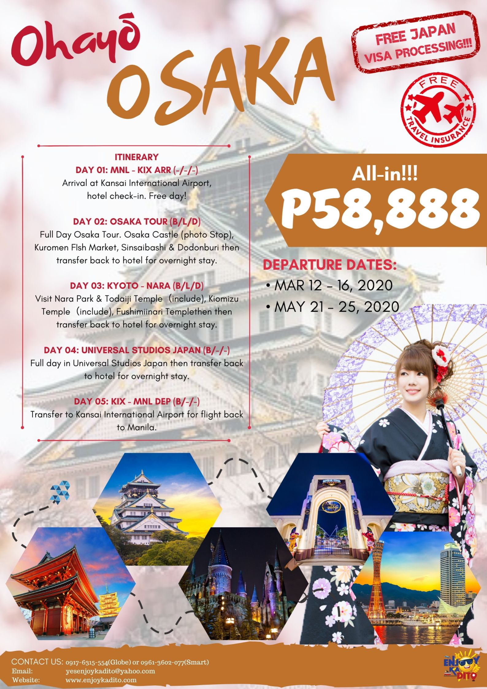 Ohayo by MCP Greenery Travel and Tours