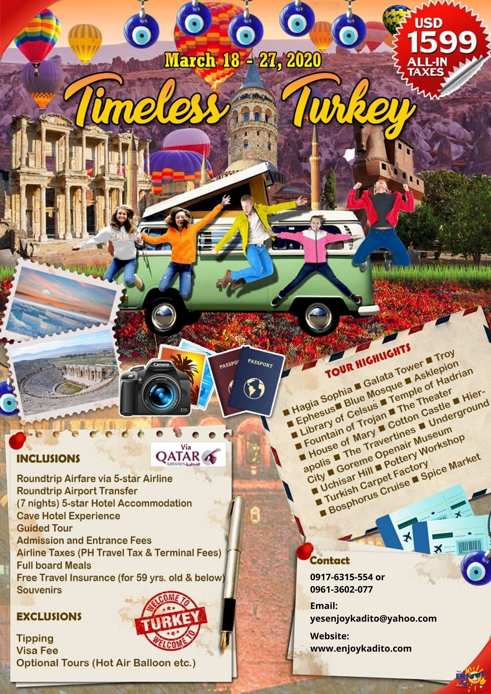 Turkey Mar. by MCP Greenery Travel and Tours